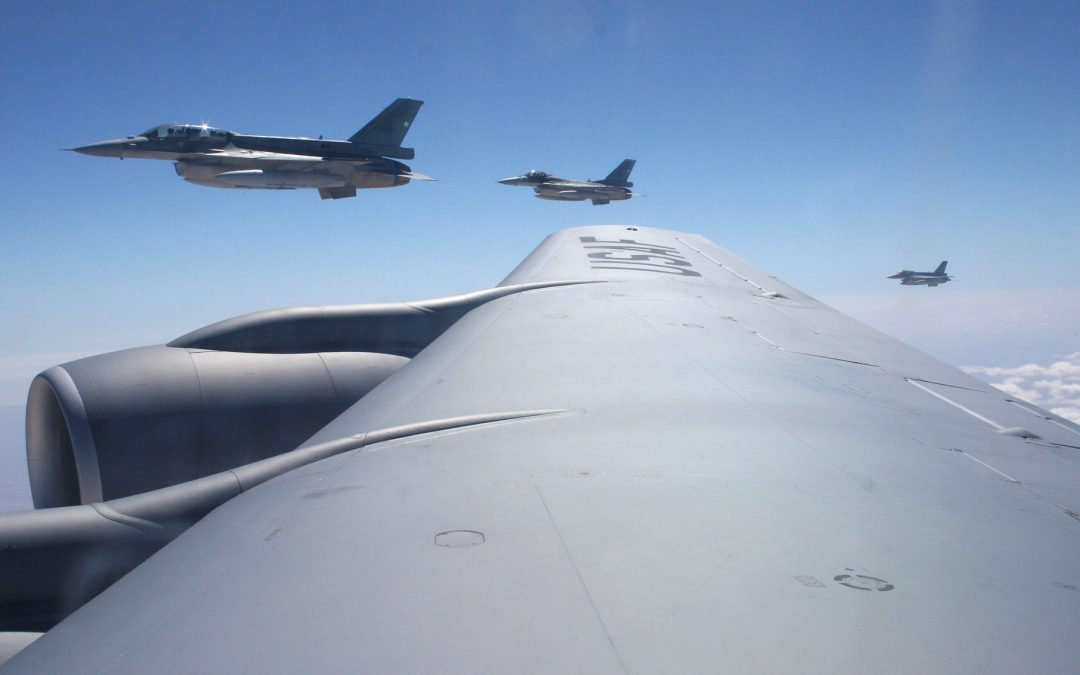 Chilean F-15 Refueling Mission
