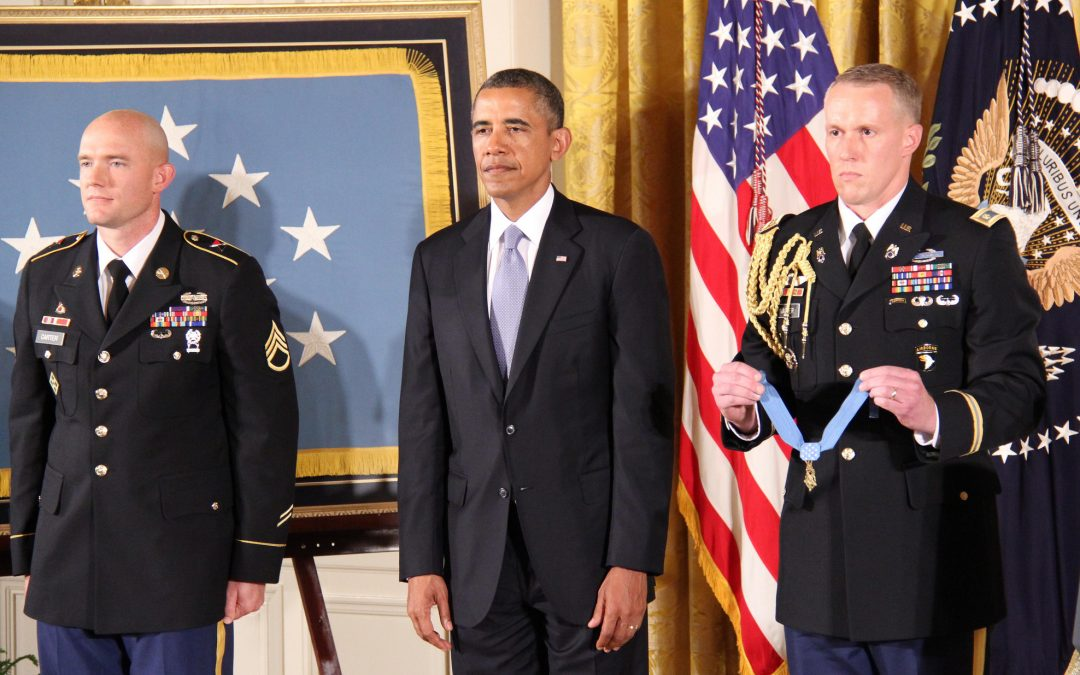 Medal of Honor Ceremony for Ty Carter